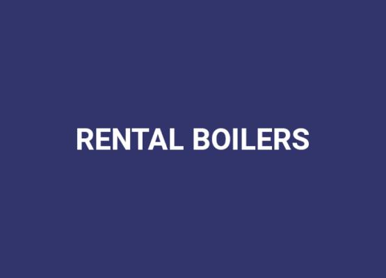Rental boilers